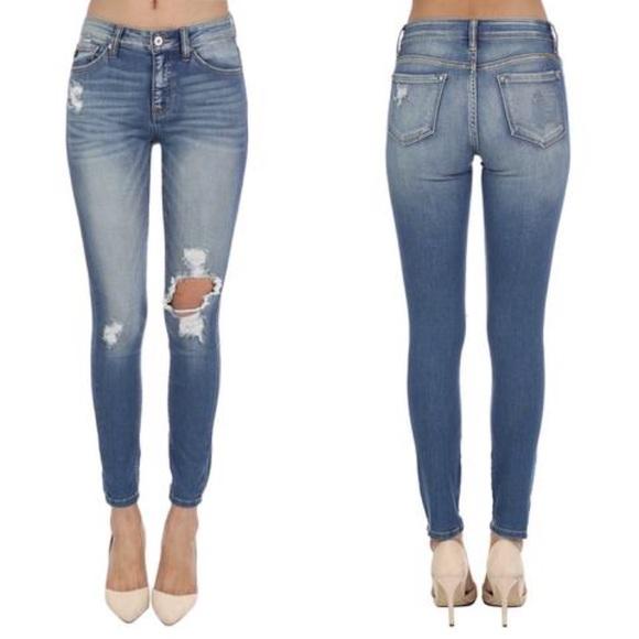 bc3ae14876415 KanCan Jeans | Nwt Kan Can Hollyemersyn Ripped Knee Skinny | Poshmark